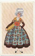 Femme De Frontenay Rohan Rohan Dessin Collection De G De Gardillanne Et E. Moffat Chemins De Fer - Frontenay-Rohan-Rohan