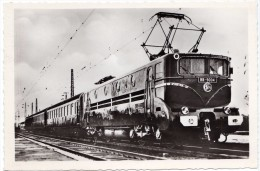 "Train Chemin De Fer S.N.C.F - BB 9004 - Record Du Monde De Vitesse 29 Mars 1955 - Edition "" La Vie Du Rail "" 1957 N° 15 - Trenes"
