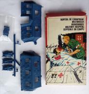 TRES RARE BOITE ATLANTIC WWII HOPITAL DE CAMPAGNE 1/72 COMPLETE No Airfix Matchbox Esci ... - Army