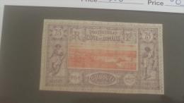 LOT 250608 TIMBRE DE COLONIE COTE DE SOMALIS NEUF* N�16 VALEUR 63 EUROS