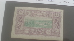 LOT 250613 TIMBRE DE COLONIE COTE DE SOMALIS NEUF* N�11 VALEUR 25 EUROS