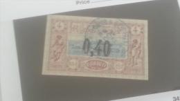 LOT 250620 TIMBRE DE COLONIE COTE DE SOMALIS OBLITERE N�22 VALEUR 50 EUROS
