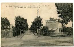 91 MONTGERON La Rue De La Glacière Et L´Hotel Des Touristes - Montgeron