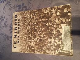 JOURNAL LE MIROIR DES SPORTS - 28 Mars 1933 N°700 / FOOTBALL - FRANCE BELGIQUE à COLOMBES - Sport
