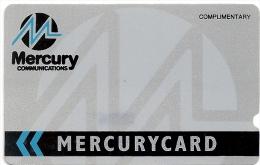 UK (Mercury) - Corp. Complimentary Silver, 6MERA-MER007, 1988, 27.000ex, Used - Reino Unido
