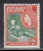 Pitcairn Islands MNH Scott #29 2sh Island Wheelbarrow - Timbres