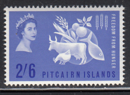 Pitcairn Islands MH Scott #35 2sh6p Freedom From Hunger - Pitcairn