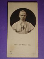 Serie AR T 1718 - Papa S.S.PIO XII Giubileo Episcopale - Anno Guerra 1942 -Basilica S.Giovanni Battista MONZA - Santino - Santini