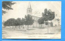 FR258, Cormatin, Place De L'Eglise, Précurseur, Circulée 1903 - France