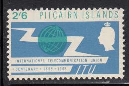 Pitcairn Islands MH Scott #53 2sh6p International Telecommunications Union Centenary - Timbres