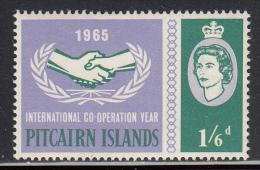 Pitcairn Islands MNH Scott #55 1sh6p International Co-operation Year - Pitcairn