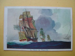 La Flotte De Tourville. - Guerra