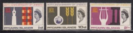 Pitcairn Islands MH Scott #64-#66 Set Of 3 20th Anniversary UNESCO - Timbres