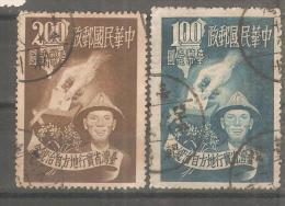 Sello Nº 138 Y 140 Formosa - 1945-... Republic Of China