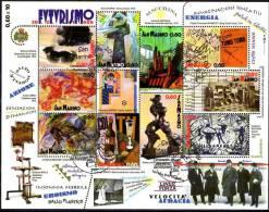 PIA  - SAN  MARINO -  2009  : Centenario Del Manifesto Del Futurismo  -   (SAS  Bf 91) - Blocchi & Foglietti