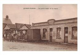 QUEND PLAGE  - Le Petit Train De La Gare - Quend