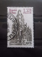France N°2132 CATHEDRALE ST JEAN De LYON Oblitéré - Eglises Et Cathédrales