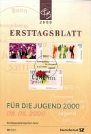 ALLEMAGNE  Carte Notice 1er Jour  2000  Exposition Universelle A Hanovre - 2000 – Hanover (Germany)