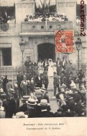 MONTREUIL FETE COMMUNALE 1908 COURONNEMENT DE LA ROSIERE 93 - Montreuil