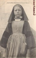 PONTIVY CAPE D'HIVER COIFFES BRETONNES COSTUME FOLKLORE HAMONIC 1900 - Pontivy
