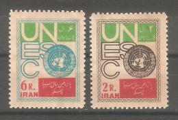 Serie Nº 986/7 Iran - UNESCO