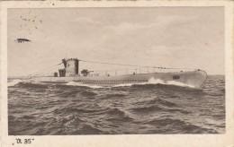 SOUS MARIN ALLEMAND  V35  ///////    REF  MARS 15 /  N° 6905 - Submarinos