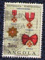 Angola 1967 Oblitéré Rond Used Insigne Ordre De L'empire Ordem Do Império - Angola