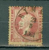 Norge 1856  Yv 5  Used / Obl / Gebr Cote Yv. € 50,00 - Norvège