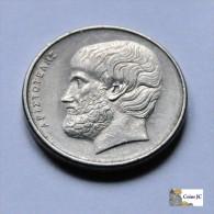 Grecia - 5 Drachmas - 1976 - Grecia