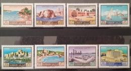 R2 - Lebanon 1967 Mi. 1002-1009 MNH - Tourism Year - Lebanon