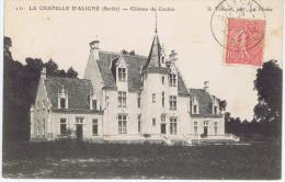 72 - La Chapelle-d'Aligné (Sarthe) -  Château De Coulon - Autres Communes