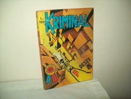 Kriminal (Corno 1967) N. 101 - Libri, Riviste, Fumetti