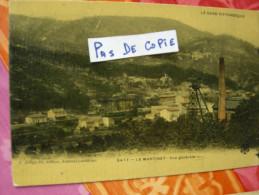 LE MARTINET 5477, Vue Générale, Puits Pisani à Droite (Compagnie Des Mines) Colorisée Glacée, éditeur Artige, Circulée - Mines