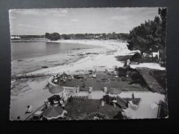 CP FRANCE (M1509) Environ De CONCARNEAU 29 (2 Vues) La Plage De Cabellou - Concarneau