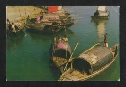 Bangladesh  Picture Postcard Sea Ship Dhaka View Card - Bangladesh