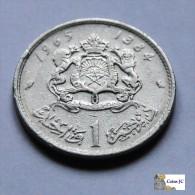 Marruecos - 1 Dirham - 1965 - Marruecos