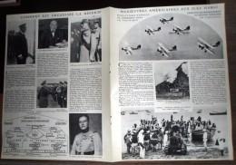 ANCIEN DOCUMENT PHOTO MANOEUVRES AMERICAINES AUX ILES D HAWAI SOUS MARIN USS CINCINATTI - Vieux Papiers