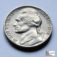 Estados  Unidos - 5 Cents - 1978 - United States