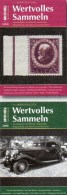 MICHEL Wertvolles Sammeln 1/2014+2/2015 Neu 30€ Luxus Sammel-Objekt Information Of The World Special Magacine Of Germany - Other Collections