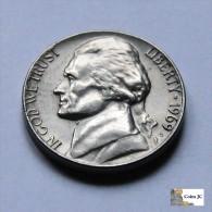Estados  Unidos - 5 Cents - 1969 - Vereinigte Staaten