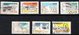 PORTUGAL 1985 Architecture 7 Values Used - 1910-... République