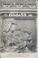 BOURGES - Statue De Jacques Cœur, Bas-reliefs - Jacques Cœur Offrant Ses Services Au Roi Charles VII - N° 15 - Bourges
