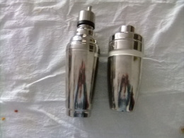COCTELERA INOX - Stainless Cocktail Shaker - Cucharas Mezcladoras