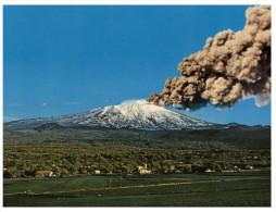 (303) Italy  - Mt Etna Volcano - Italia