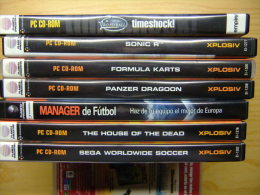 PC CD ROM --- LOTE DE SIETE - Juegos PC