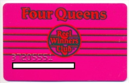 Four Queens Casino, Las Vegas, older used slot or player�s card, fourqueens-21