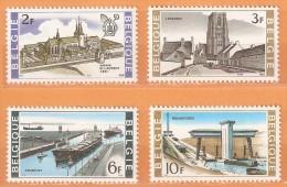 COB 1466/1469  (MNH)  (Lot 306) - Belgique