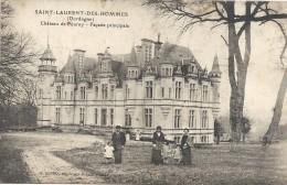 SAINT LAURENT DES HOMMES - 24 - CPA INTROUVABLE Du Chateau De Fourny - Façade Principale - 1098 - - Otros Municipios