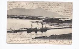 CPA IRLANDE - CO. MAYO - PATRICK - Clew Bay and Croagh - TB PLAN de la BAY avec B�teau