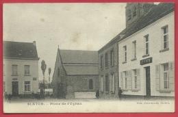 Blaton - Place De L'Eglise ( Voir Verso ) - Bernissart
